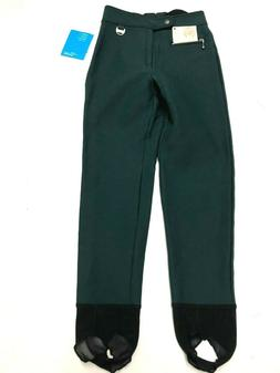 Nils Ski Pants Women Girl Size XS 2-4 Skinny Stretch Stirrup