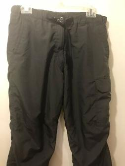 Ski Pants Women small, Black With Pockets
