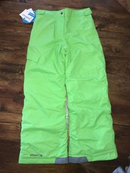 Columbia Ski Snow Pants Green Medium  Youth Boys Ice Slope N