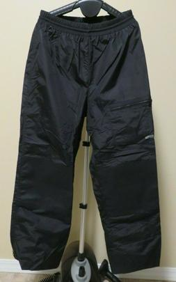 Columbia Ski Snow Pants Winter Black NWOT Mens Large L Elast