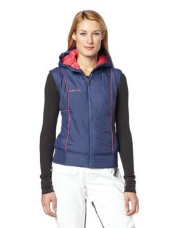 Flylow Women's Smuggler Skiing Vestm Navy/Tulip, X-Small