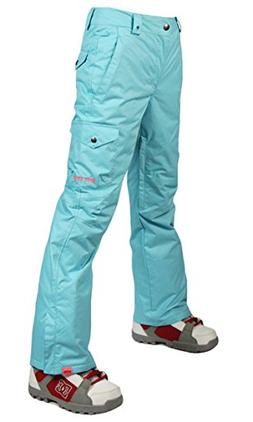 APTRO Women's Outdoor Insulated Snow Pants Windproof Waterpr