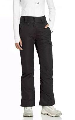 Arctix Snow Sport Cargo Womens Pants Black Lightweight For s