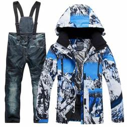 Snowboard Jacket Pants Warm Ski Windproof Waterproof Outdoor