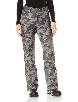 Arctix Women's Snowsport Cargo Pants, Large, Green Camo