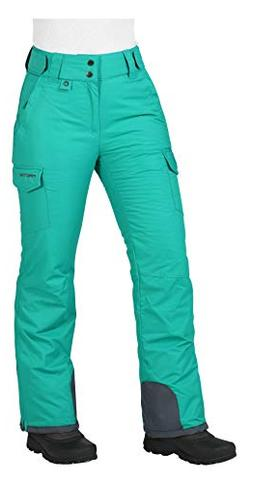 Arctix Women's Snowsport Cargo Pants, X-Small, Kingfisher