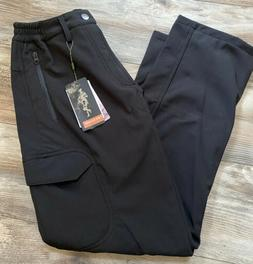Free Soldier Softshell Fleece Lined Cargo Ski Hiking Pants -