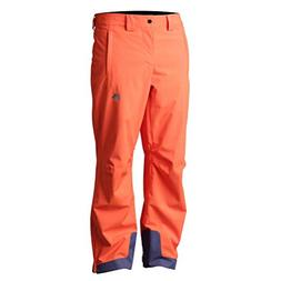 DESCENTE Stock Insulated Mens Ski Pants - 36/Blaze Orange