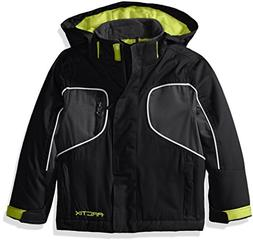 Arctix Boys Storm Insulated Jacket, X-Small, Black