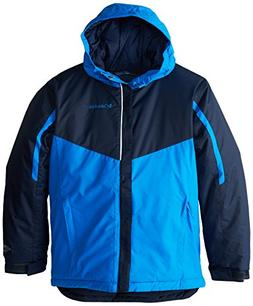 Columbia Stun Run Jacket - Boys' Collegiate Navy Hyper Blue,