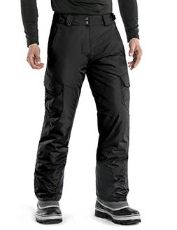 TM-YKB83-BLK_Large Tesla Men's Cargo Rip-Stop Snow Pants Win