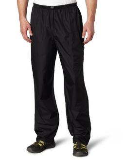 "White Sierra Men's Trabagon Rain Pants - 32"" inseam, Black,"
