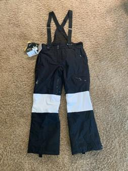US Ski Team Black Spyder Mogul Pants - Large