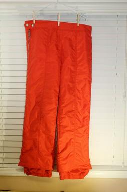 Vintage Number1Sun Ski Wear Orange Snowboard Pants Vintage 3