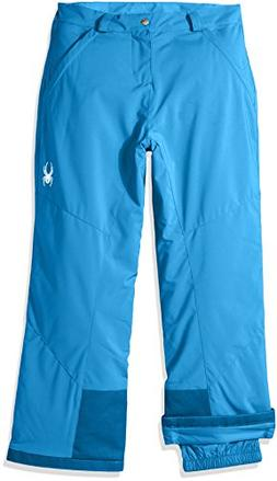 Spyder Girl's Vixen Ski Pant, French Blue, Size 12