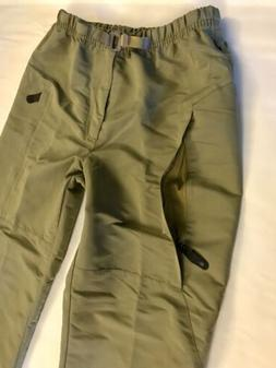 Vtg Nike ACG Hiking Skiing Pants Mens L Khaki Vent Zippers B