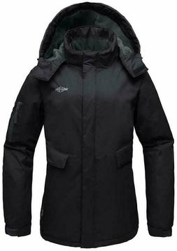 wantdo women s mountain ski fleece jacket