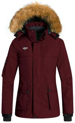 wantdo women s warm parka mountain ski
