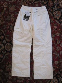 NILS WATERPROOF INSULATED WOMEN'S SNOW SKI PANTS WHITE size