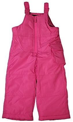 Weathertamer - Girls Bib Snowpants, Pink 40058-5/6