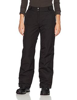 White Sierra Women's Snow Crest Insulated Pants, Small, Blac