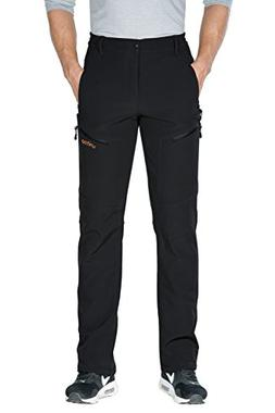 "Unitop Men's Winter Snow Ski Pants Black-1 36/34"" inseams"