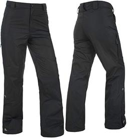 Trespass Women's Anouska Ski Pants TP75 Black Waterproof Win