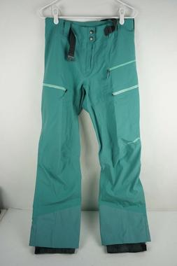 Patagonia Women's Descensionist Pants Size SMALL Beryl Green