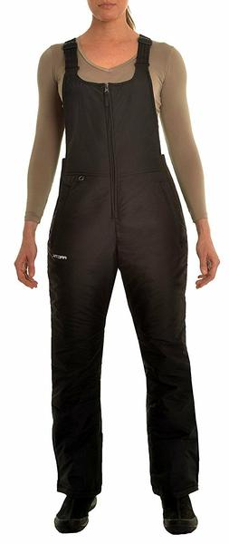 Arctix women's Insulated Overalls Bib, 4X, Black