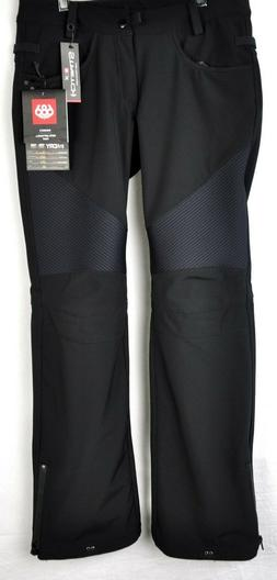 686 Women's Moto Softshell Ski Snow Pants L8W410 Black Size