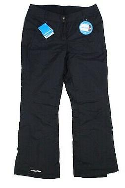 Columbia Women's Pants Jet Black Size Large L Insulated Snow