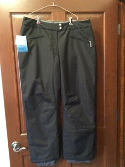 White Sierra Women's Snow Ski Snowboard Pants NWT Black Wate