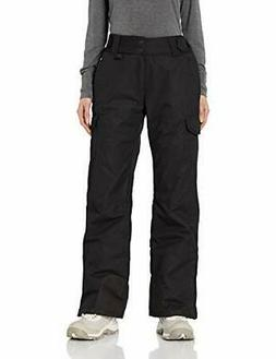 Arctix Women's Snow Sports Insulated Cargo Pants, Black, X-L