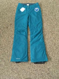 Columbia Womens Arctic Trip Omni-Tech Ski/Snow Pants Teal Sm