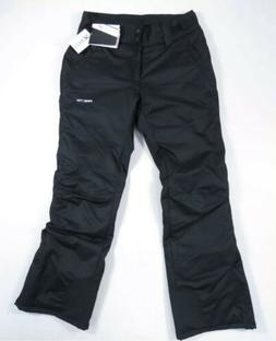 womens black insulated water resistant breathable snow