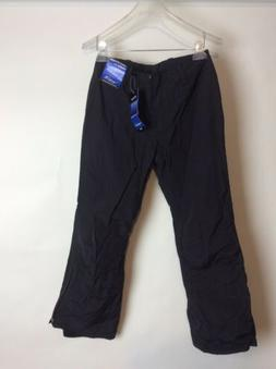 womens black ski snowboard pants size 4