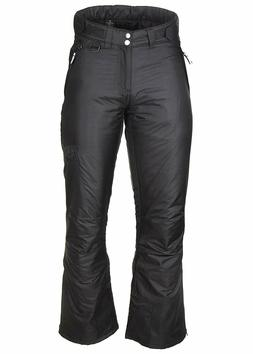 ARCTIC QUEST - Womens Insulated Ski & Snow Pants in Black --