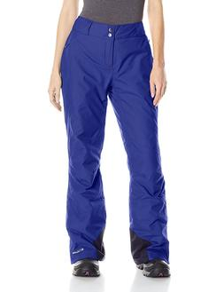 COLUMBIA WOMENS M BUGABOO OH OMNI HEAT SKI INSULATED PANTS W