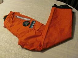 Womens Medium Ski Pants ORANGE DuPont Comfort Max Quality Ad