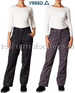 WOMENS GERRY RUBY FLEECE LINED SNOW PANTS BOARDER SKI PANT 4