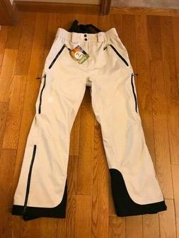 GROUND Women's Ski Pants Beige Size Large NWT FAST SHIPPIN