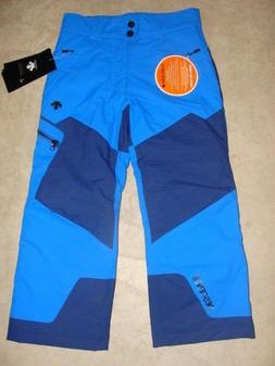 YOUTH BOYS DESCENTE SKI/SNOWBOARD PANTS SIZE 8 NWT $125