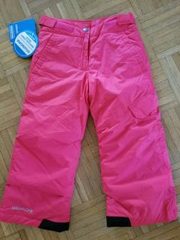 COLUMBIA Youth Girl's Sled Now Talk Later Snow/Ski Pants NWT