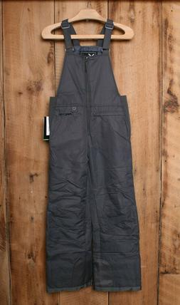 Arctix Youth Insulated Snow Bib Overalls, Charcoal Gray Medi