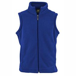 White Sierra Youth Mountain Vest,Navy,X-Small