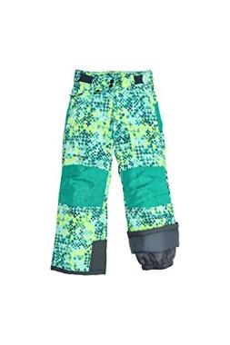 Arctix Youth Reinforced Snow Pants, X-Small, Freeze Pop Teal