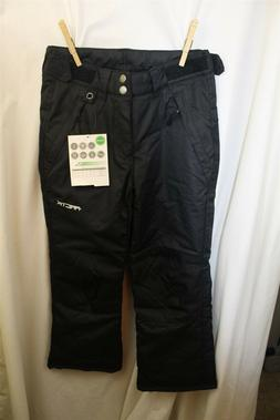 Arctix youth ski snow pants S solid black NWT