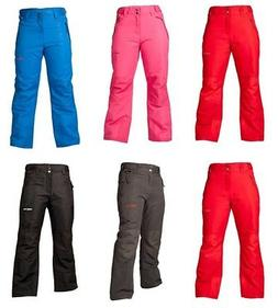 youth ski warmth snow pants with reinforced