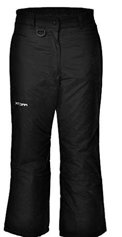 Arctix Youth Snow Pants, X-Large, Black
