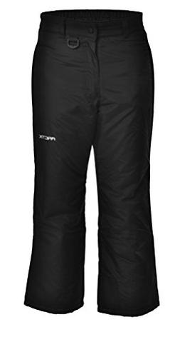 Arctix Youth Snow Pants, Small, Black